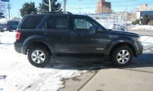 2008 Ford Escape LTD.3.0L/AWD/LEATHER/SUNROOF/CERTIFIED/6MONTHS