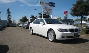 2006 BMW 7 Series RWD sedan 750Li LOADED/ LEATHER/ NAV/DVD/ ACCI