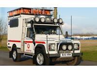 Land Rover Defender 110 TD5 LHD Ambulance 2001