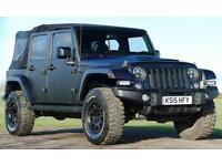 Jeep Wrangler 2.8TDi Wild AEV Auto Drop Top 4x4 Diesel