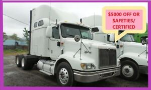 2007 INTERNATIONAL 9200i Safeties/Certified or $5,000 Discount