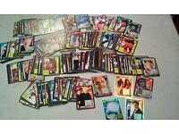 DOCTOR WHO EXTREME BATTLE TRADING CARDS X 190