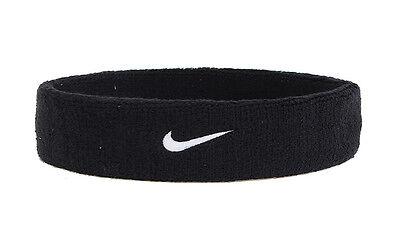 Nike Swoosh Sport Black Headband Headwear Gear AC2285-010 Gift Free Shipping NEW