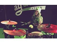 Female Drummer Available for Live/Recording Work