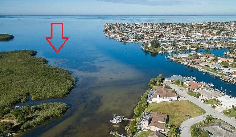 WOW 10.98 Acres Right On The Gulf Of Mexico New Port Richey Florida Near Tampa - $4,254.00