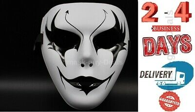 Mask Adult Mens Guy Fawkes Anonymous Occupy Halloween Ghost dance fancy Horns - Occupy Masks