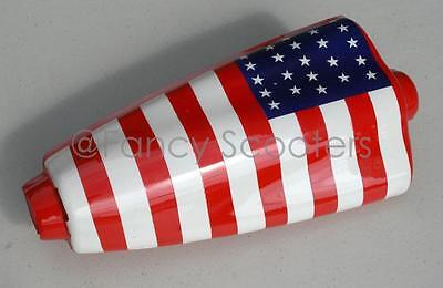Stand Up Gas or 'Electric  Scooter Key Box A, color in US FLAG, Chinese Parts
