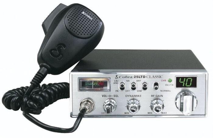 COBRA 25LTD CLASSIC CB RADIO / PROFESSIONAL FULL FEATURE C B RADIO  **NEW**