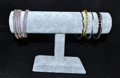 1 x Schmuckhalter Schmuckständer Uhrenständer Uhrenhalter Armbandhalter Samt NEU