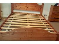 Pine King Size Bedframe For Sale
