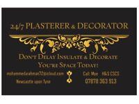 PLASTERING & DECORATING SERVICE