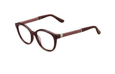 Jimmy Choo JC118 Kmn Glitter Frame for Glasses Vista Jc 118 Eyewear