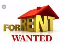 WANTED house to rent 2-3 bedroom please