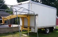 Trailer - 5th Wheel - MOVING, Delivering CO. - use for STORAGE