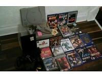 SONY PLAYSTATION 1 &2 PLUS 20 GAMES SOMNE REALLY GOOD ONES