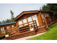 The Chillingham Lodge. Northumberland hot tub lodge