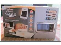 Tommee Tippee Closer to Nature Digital Video and Movement Baby Monitor