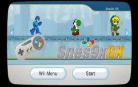 Wii with retro emulators over 1000 classic games
