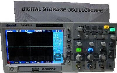 Hantek Dso5072p Digital Oscilloscope 2channels 70mhz 1gss 7 Tft Wvga800x480