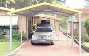 Factory Moving Brand new Gable roof carport, 6M long x 4M widex 3.2hig Ingleburn Campbelltown Area Preview