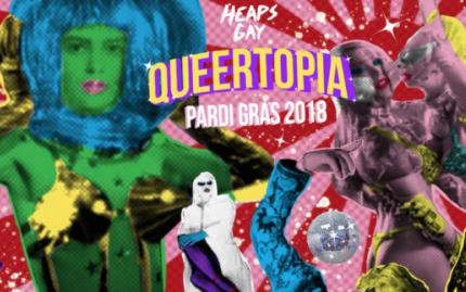 Wanted: Mardi Gras Heaps Gay Queertopia Pardi Gras Tickets