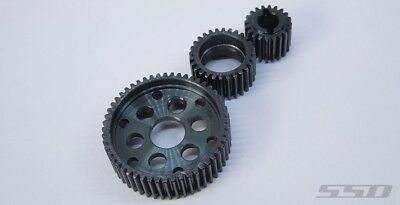 SSD RC HD Steel Transmission Gear Set for SMT10 / SCX10 / Wraith SSD00172
