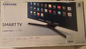 "Brand New TV (Box NOT OPENED) Samsung 40"" Smart LED"