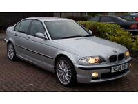 69k BMW 325 2.5i 2001 i M Sport 5 door ( MOT 01/18 )