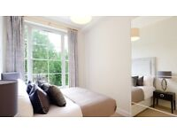 BRIGHT AND SPACIOUS 2 BEDROOM FLAT WITH HIGH CEILINGS, FURNISHED AVAILABLE NOW IN Lexham Gardens