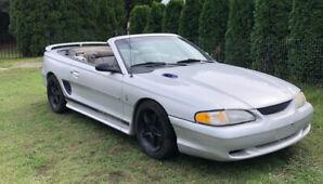 Mustang convertible 1998