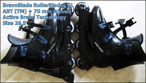 BravoBlades GL RollerBlades with Active Brake Technology