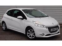 Peugeot 208 1.2 VTi Active Petrol Manual 3 Door White 2014