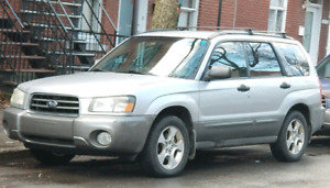 Subaru Forester XS  2003 (for parts or repair)