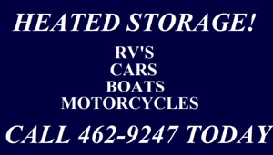 STORE IT AWAY WITH AAA! RESERVE YOUR WINTER STORAGE NOW!