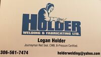 Looking to take on some more weld work or equip opperating jobs