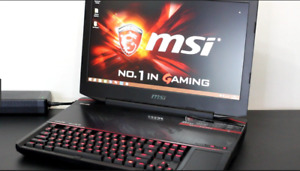 Like New, Gaming msi gt80-2qe-titan