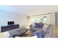 Luxurious 3B&2bath with views over the canal and private parking in Merchant Square London