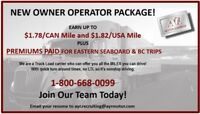 Tractor Trailer Owner Operator - NB