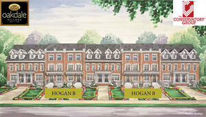 Oakdale Village Homes, townhomes in North York
