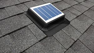 Autonomous solar roof vent for Sale