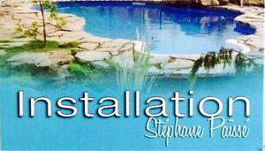 Reparation de piscine creusée