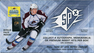 2013-14 Upper Deck SPx Hockey Cards Hobby Box Kitchener / Waterloo Kitchener Area image 1