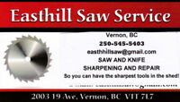 SAW SHARPENING AND REPAIR