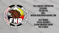 Roofing with First Nations Roofing & General Contracting