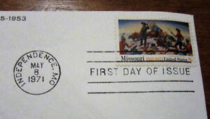 1971 HARRY S. TRUMAN 8 Cent First Day Cover Kitchener / Waterloo Kitchener Area image 3