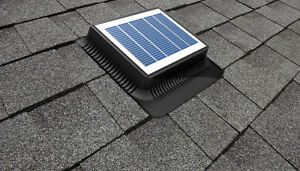 Batteryless Solar roof vent