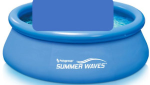 Summer Waves Portable Pool with Pump (2-4 people)