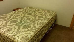 Double Mattress and Box Spring Excellent Condition