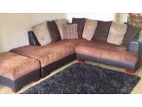 Can Deliver- Modern Marakesh Corner L-shape Sofa