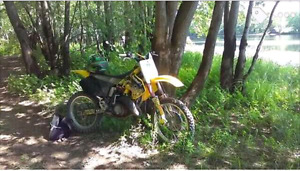 2001 RM 125 two stroke .
